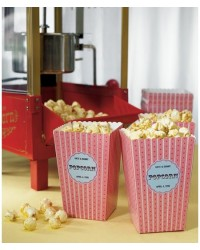 image: Novelty heart popcorn or treat cartons (12)