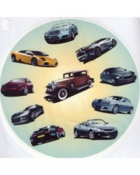 image: Edible Image Vintage Cars for the car fan