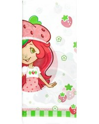 image: Strawberry Shortcake party tablecover