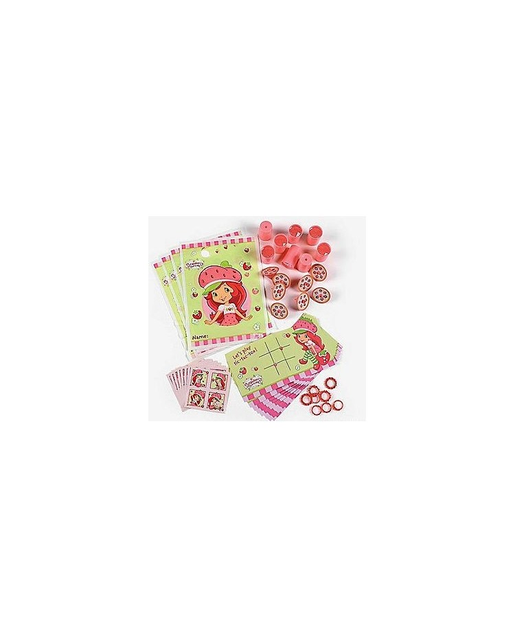 image: Strawberry Shortcake party favour pack 48pc