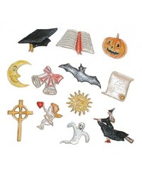 image: FMM Tappit Special occasion graduation faith Halloween cutter