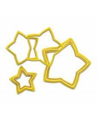 image: Nesting set star cookie cutters