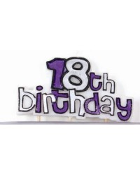 image: Feature candle 18th birthday