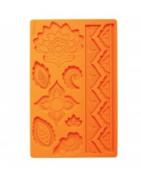 image: Global Fondant & Gumpaste silicone mould Baroque jewel shapes