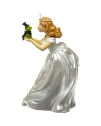 image: Wilton princess & frog princess wedding topper