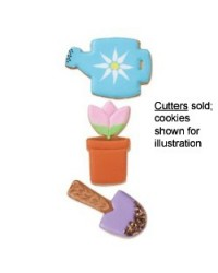 image: Garden 3 piece cookie cutters