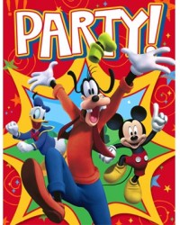 image: Mickey Mouse & friends party invites (8)