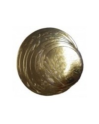 image: 9 inch round GOLD cake card (3 pk)