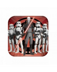 image: Star Wars Rebels party plates (8) lunch size