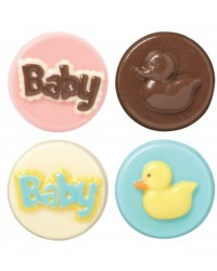 image: Baby cookie chocolate mould