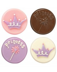 image: Princess chocolate cookie mould