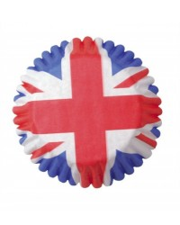 image: Union Jack standard cupcake papers baking cups