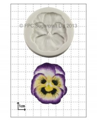 image: Pansy silicone mould