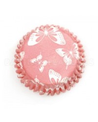 image: Butterfly blush standard cupcake papers