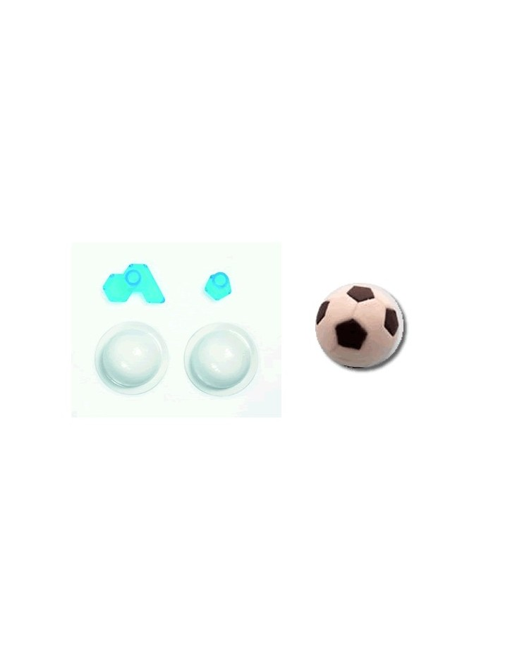 image: Jem soccer ball mould mould & embossing tool