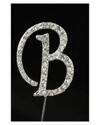 image: Diamante letter pick B