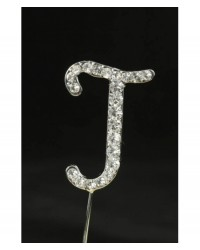 image: Diamante letter pick J