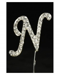image: Diamante letter pick N