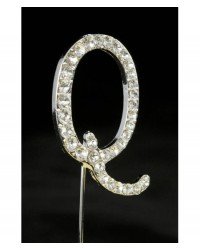 image: Diamante letter pick Q