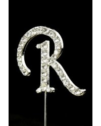 image: Diamante letter pick R
