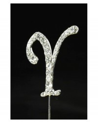 image: Diamante letter pick Y