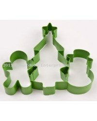 image: Christmas Trio cookie cutter (snowman,tree & G-boy)