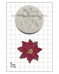 image: Poinsettia silicone mould