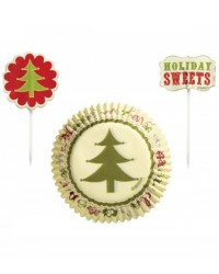 image: Homemade Cupcake papers & picks combo pack