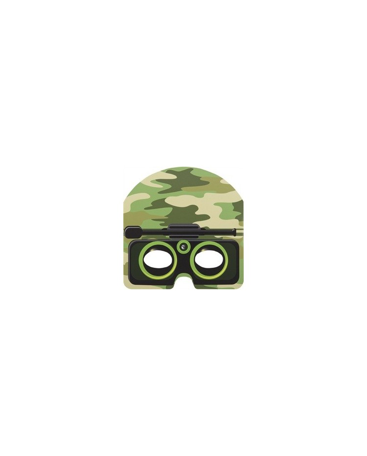 image: Camouflage army party masks (8)