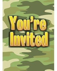 image: Camouflage army party invites #2 (8)