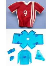 image: Jem soccer shirt cutter set