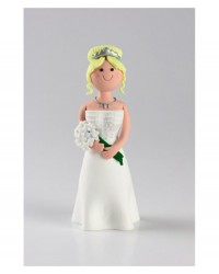 image: Claydough bride blonde (without veil)