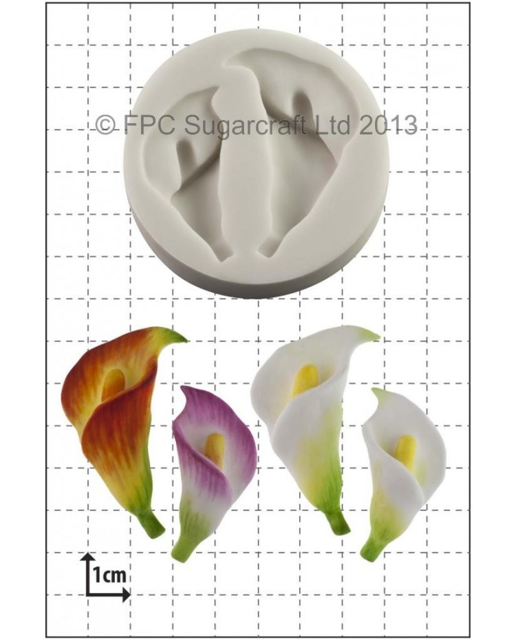 image: Calla Lily Lillies silicone mould (2 sizes)
