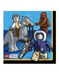 image: Lego Star Wars Party Lunch Napkins (16)