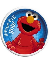 image: Hooray for Elmo party lunch plates (8) Sesame Street