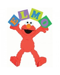 image: Elmo loves you centrepiece