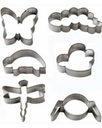image: Bug Buddies cookie cutter set Bee Butterfly Spider Caterpillar &