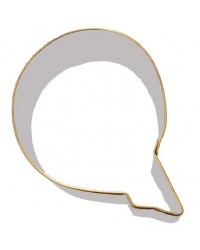 image: Alphabet letter cookie cutter Q