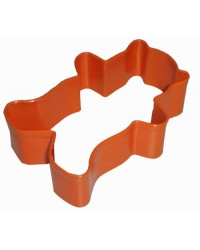 image: Teddy bear orange cookie cutter