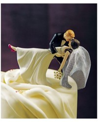 image: Miniature veil ONLY (add to a wedding topper)