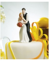 image: Bride & Groom cake topper Basketball dream