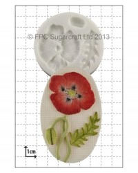 image: Poppy silicone mould