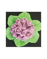 image: Posy of flowers silicone mould