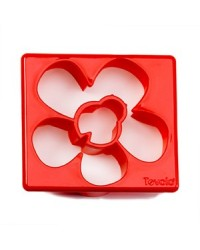 image: Ladybug & flower cookie & sandwich cutter
