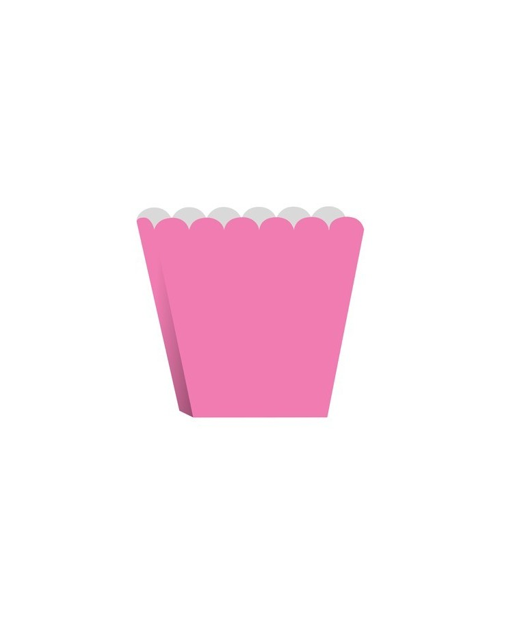image: Treat or popcorn boxes Candy Pink