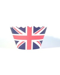 image: Cupcake wrappers Union Jack (50)