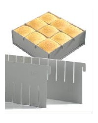 image: Dividers ADD ON ONLY for Silverwood multisquare pan