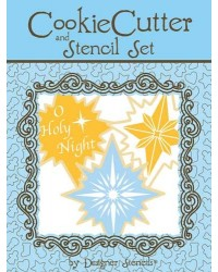 image: Nativity Stars cookie cutter & stencil set