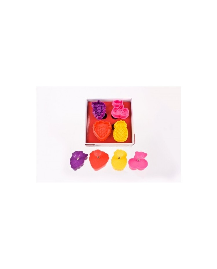 image: Fruit plunger ejector cutters set 4