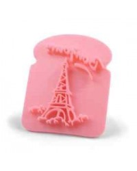 image: French toast Eiffel tower stamp (great piping guide)